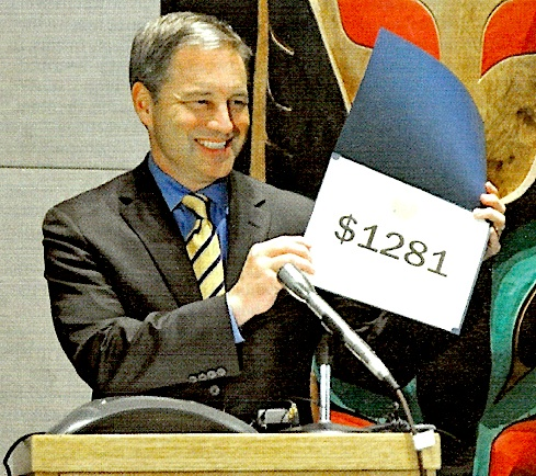 Alaska Gov. Sean Parnell announces the 2010 Permanent Fund dividend amount
